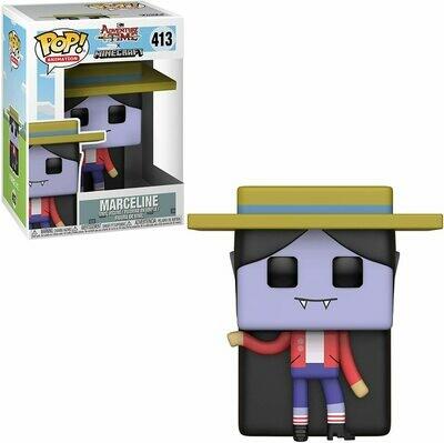 Funko Pop Television: Adventure Time - Minecraft Marceline Collectible Figure, Multicolor