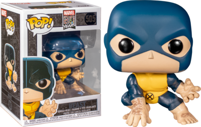 Funko 80th Anniversary POP! Marvel Beast Vinyl Figure [First Apperance]