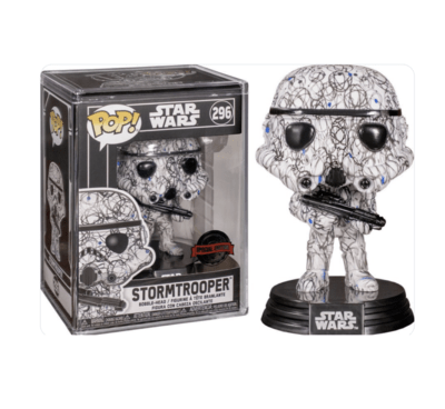 Futura Stormtrooper - Star Wars Target Exclusive Funko Pop