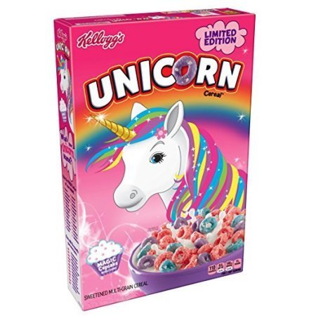 Kellogg's Limited Edition Unicorn Cereal 18.7 oz Box cereal_02