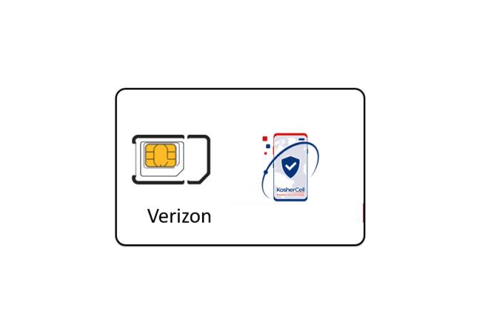 Verizon Service starting at $24.99 + SIM