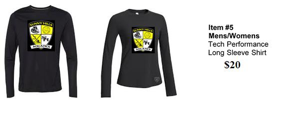 Mens/ Womens Long Sleeve Shirt 10010
