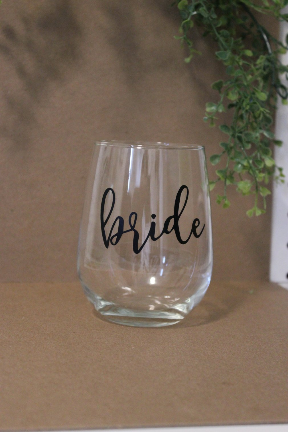 Wine Glass - Bride 00135