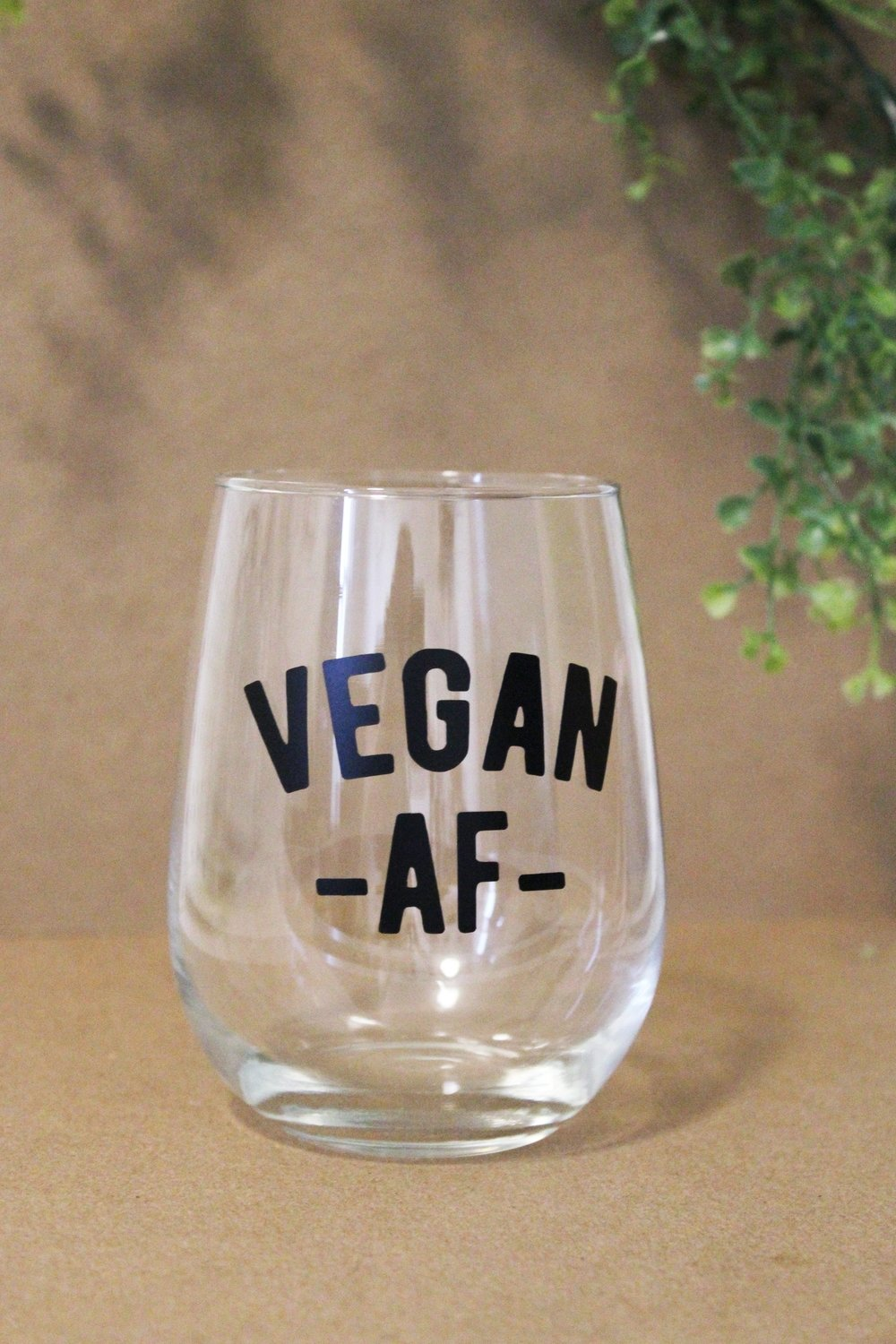 Wine Glass - Vegan AF