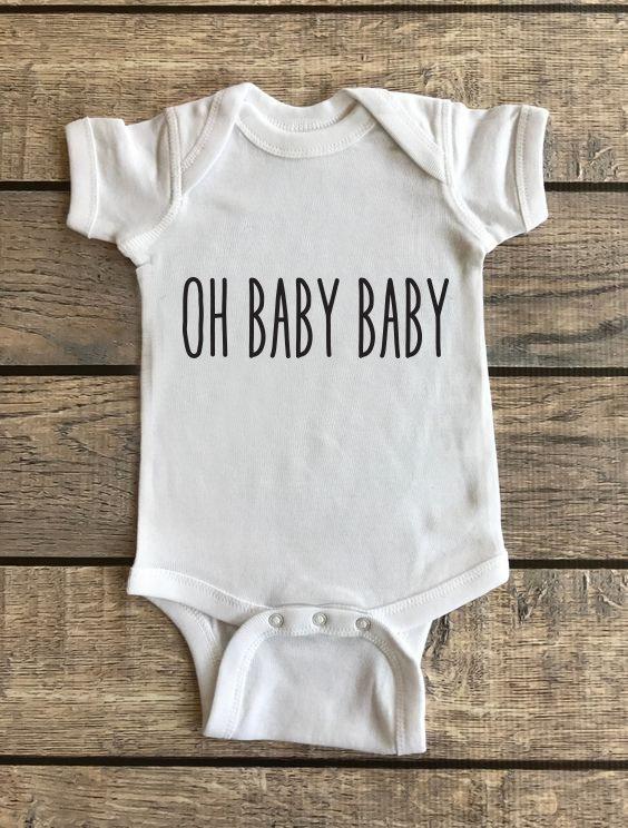 Oh Baby Baby   Baby Onesie 00184