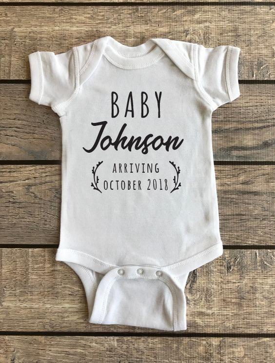 Baby Announcement   Baby Onesie 00198