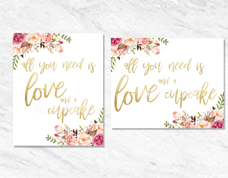 Peonies | All You Need Is Love And A Cupcake | Printable Good 00202