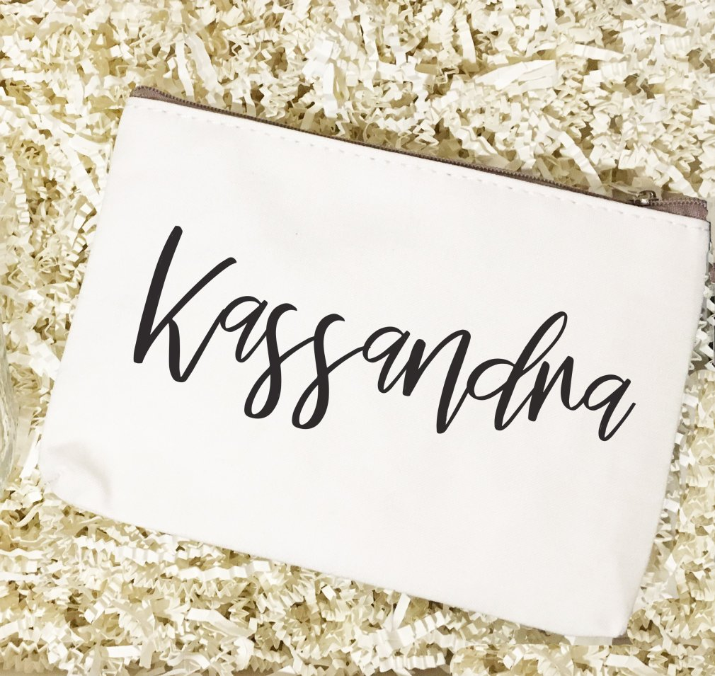 Bridal Party Names | Make Up Bag