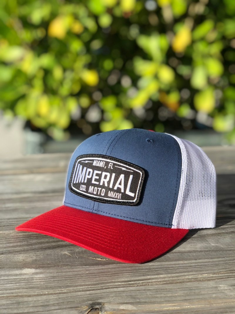 Imperial Moto 2.0 Trucker - RED, WHITE, and BLUE 00004