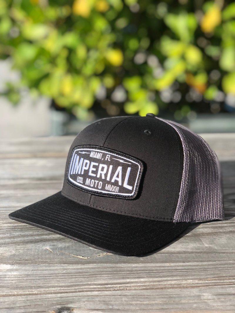 Imperial Moto 2.0 Trucker - BLACK, CHARCOAL 00006
