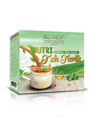 Nutri Green Tea Gold Teh Tarik Fit