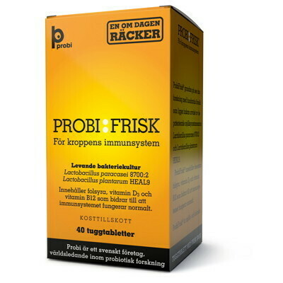 Probi Frisk® (40 tablets)
