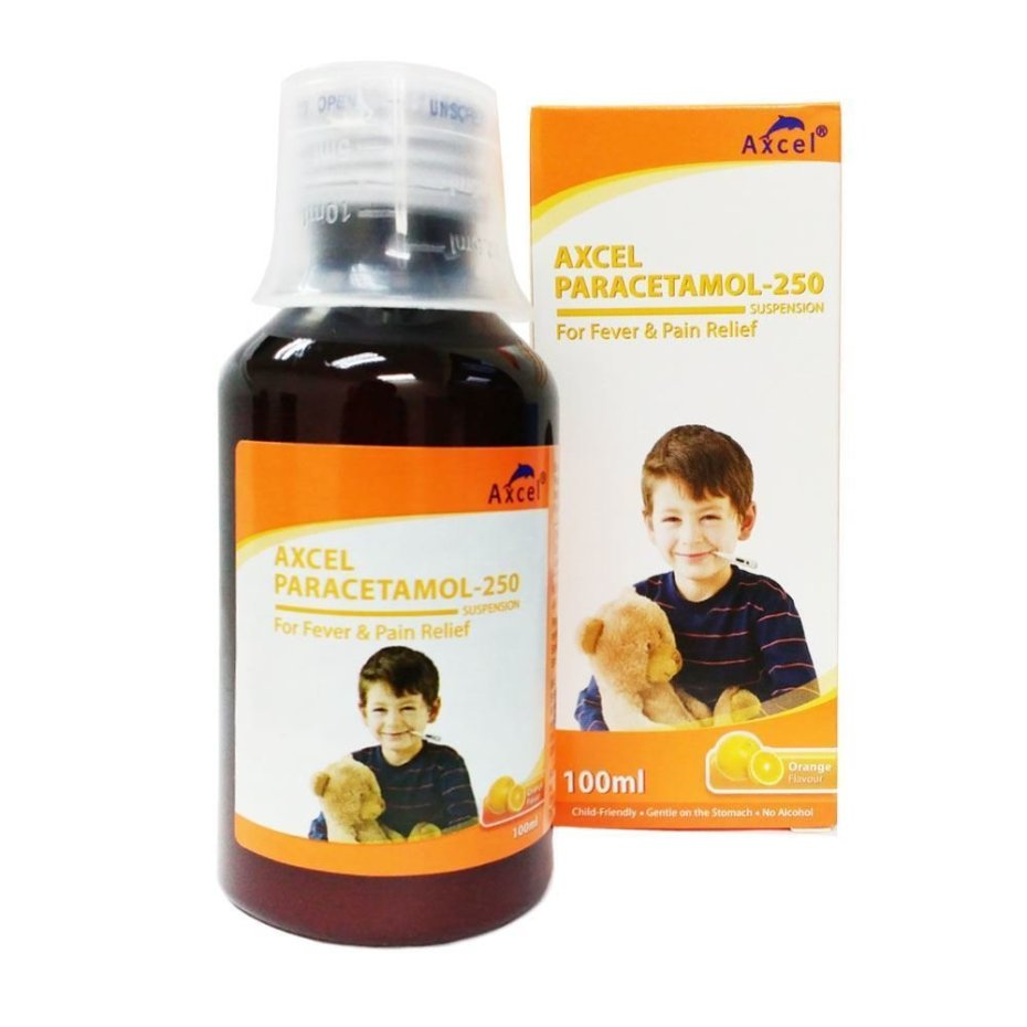 Paracetamol Syrup Dose For Babies: Axcel Paracetamol 250mg/5ml Syrup (1 Bottle)