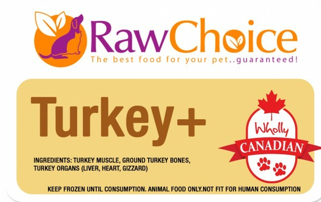 RawChoice Turkey+ (2LB) 0005