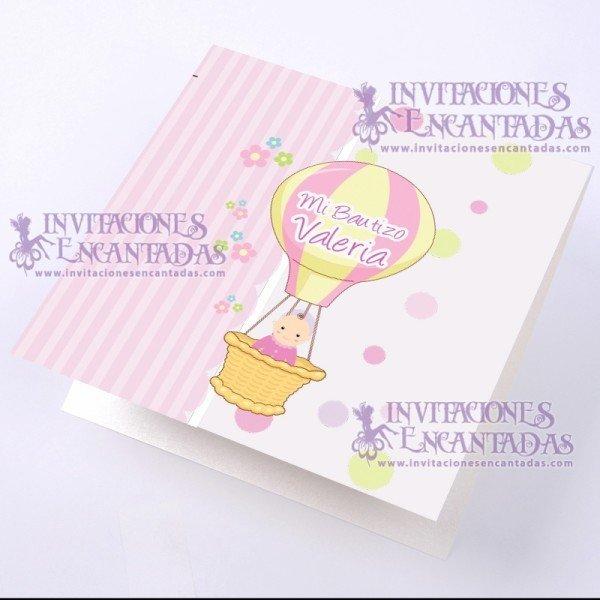 Invitación Bautizo BabySimple 02 InvBauSim02