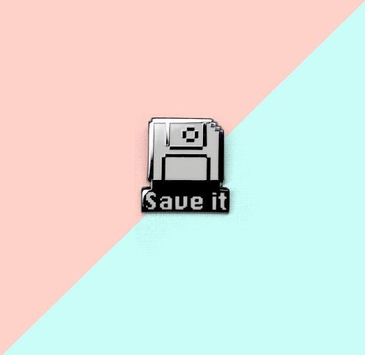 Save It Pin