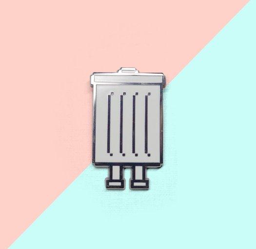 Trashbot Pin