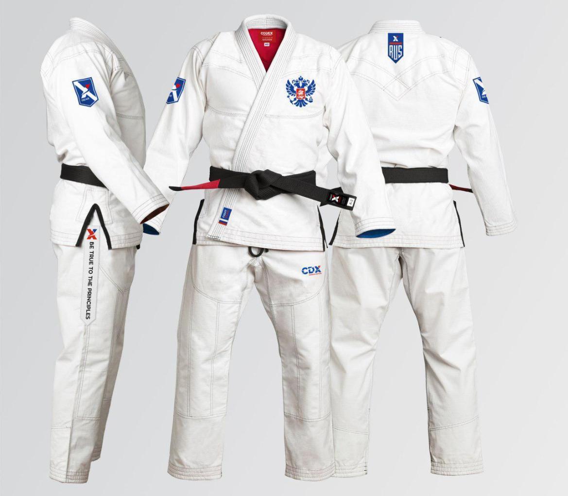 Russian Edition Brazilian Jiu Jitsu Gi 00005