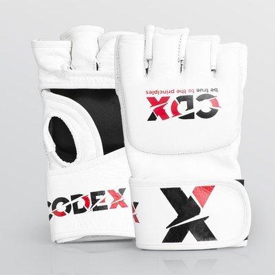 Перчатки белые MMA