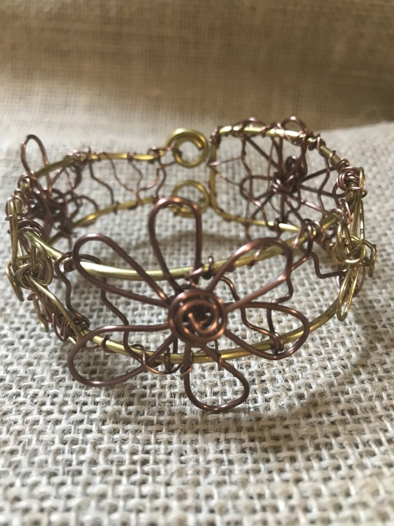 Brass & Copper Bracelet uMixBangB001