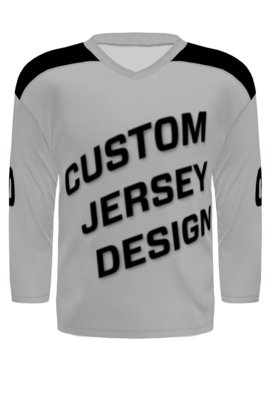Custom Hockey Jersey - Traditional Cut (with Yoke)