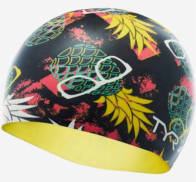 Шапочка для плавания TYR PINEAPPLE MAN SWIM CAP