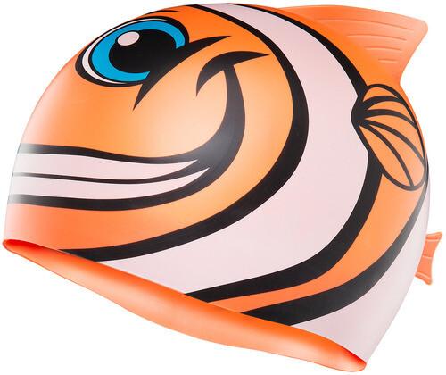 Шапочка для плавания TYR HAPPY FISH CAP