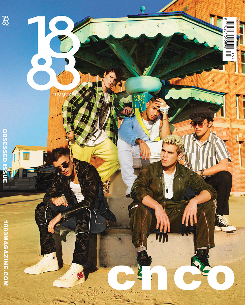 1883 Magazine Obsessed Issue CNCO