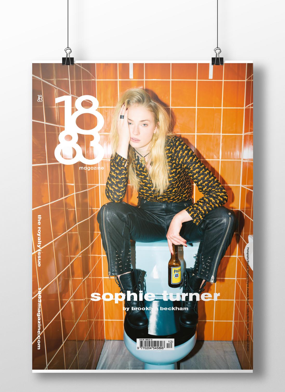 Sophie Turner cover poster p5