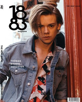 1883 Magazine The Heat Issue Thomas Brodie Sangster
