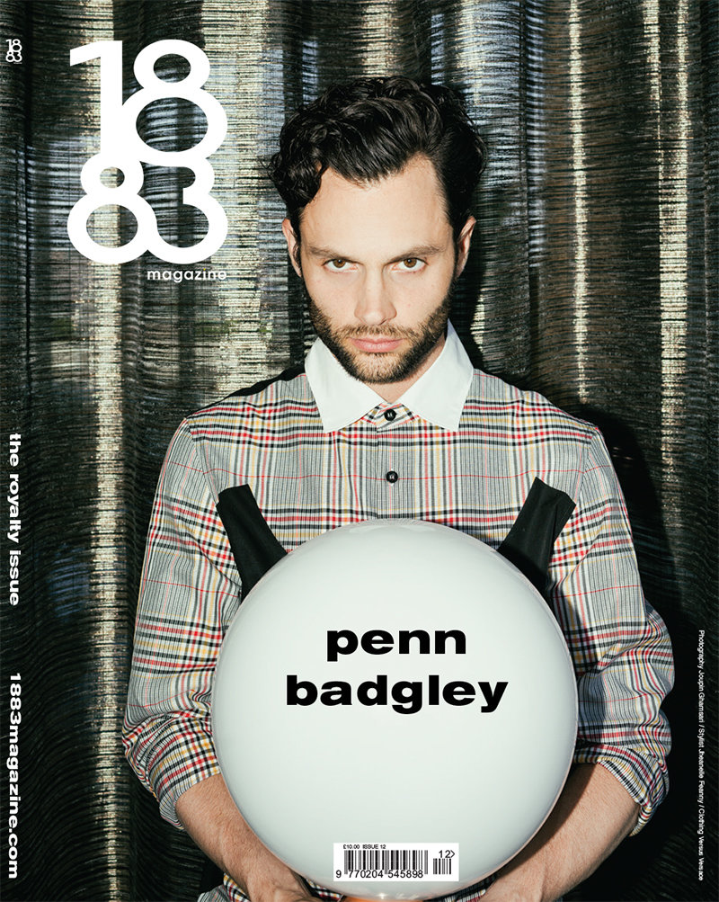 1883 Magazine The Royalty Issue Penn Badgley