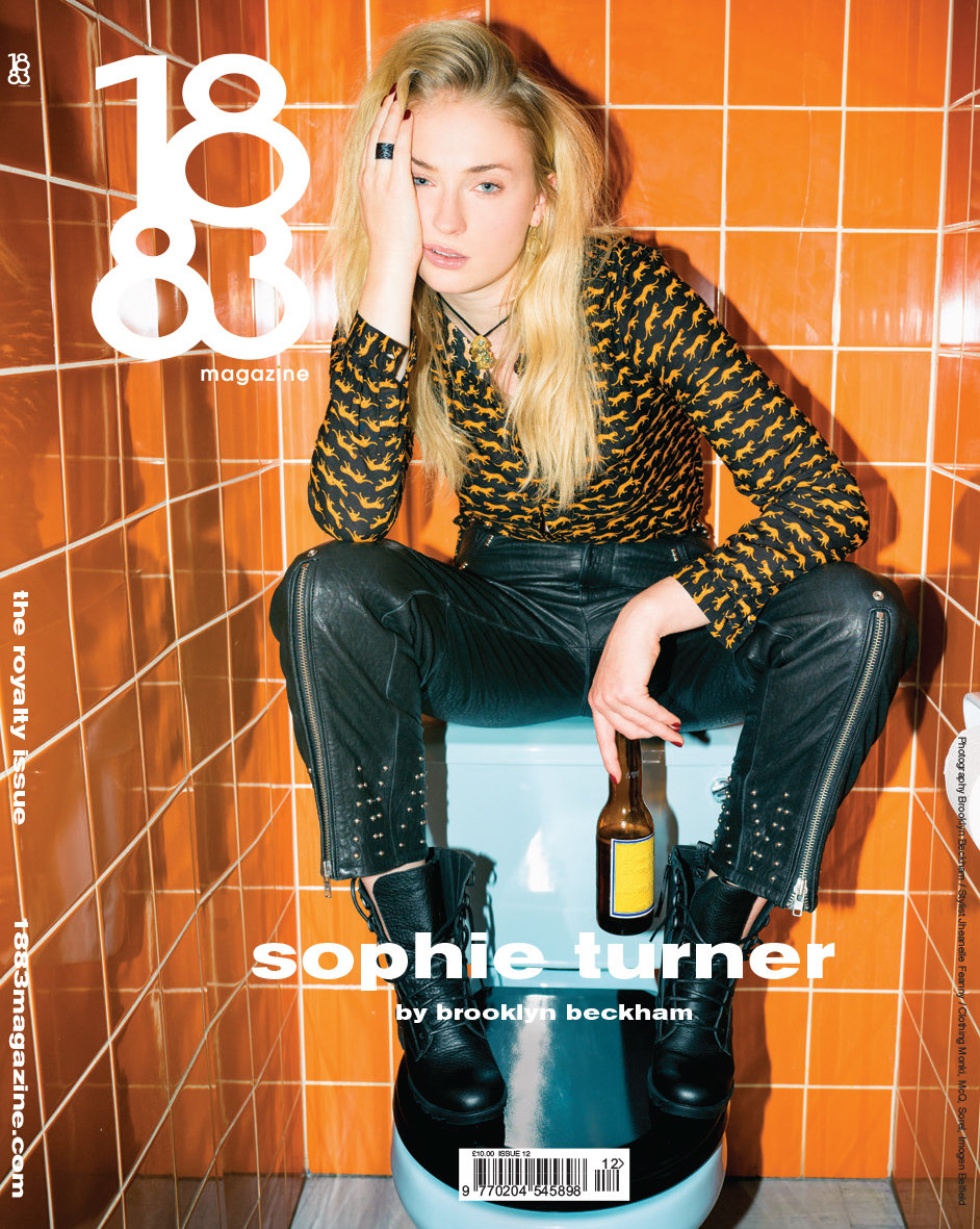 1883 Magazine The Royalty Issue Sophie Turner by Brooklyn Beckham 12.2