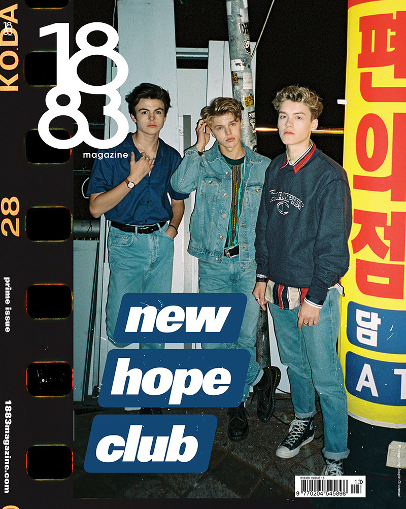 1883 Magazine Prime Issue New Hope Club