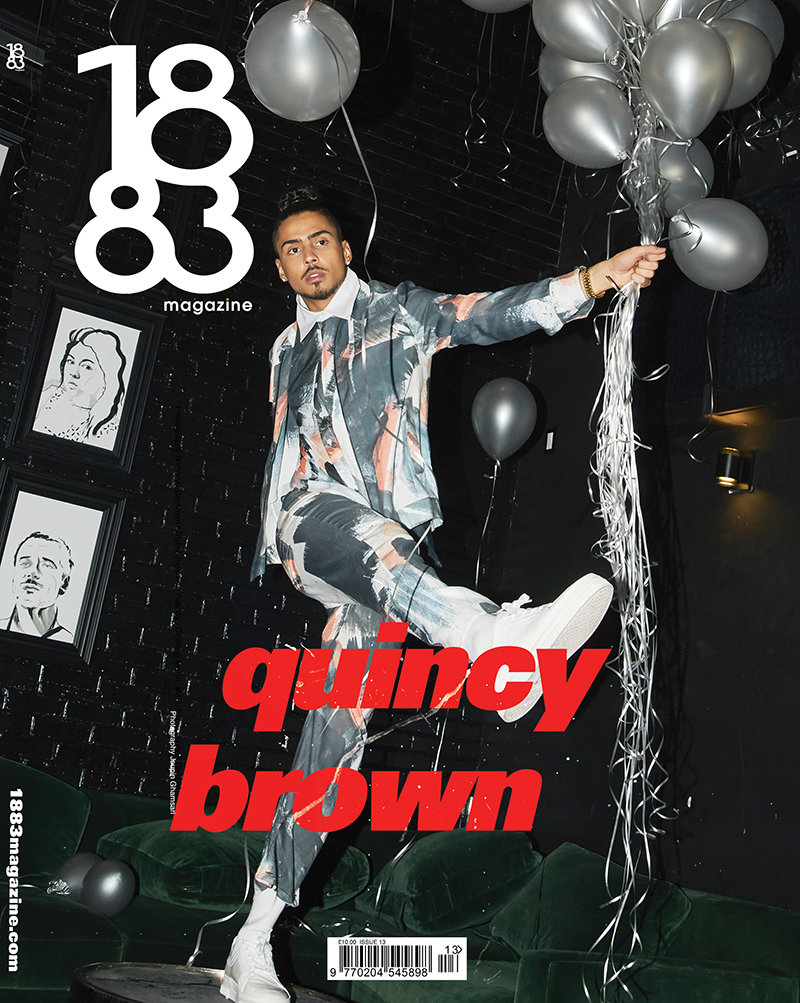 1883 Magazine Prime Issue Quincy Brown 13.3