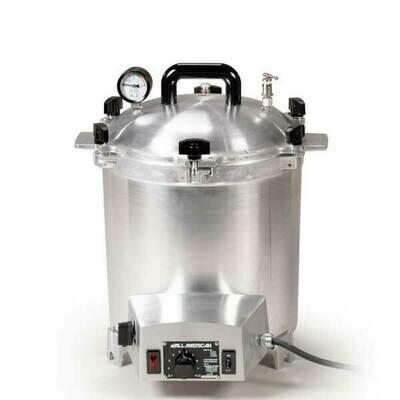 All American 25 Quart Benchtop Sterilizer - 240 volt - Get $50 Gift Credit with Purchase (see below)