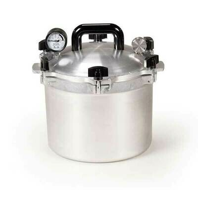 All American 910 10 Quart Pressure Canner - Get $25 Gift Credit with Purchase (see below)