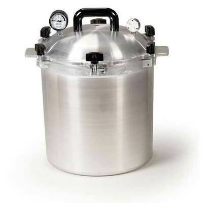 All American 925 25 Quart Pressure Canner - Get $25 Gift Credit with Purchase (see below)