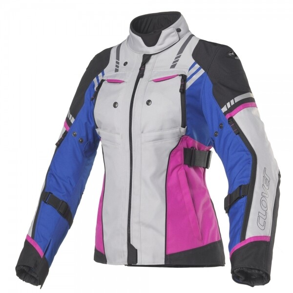 Giubbotto Sport-Touring CLOVER HYPERBLADE WP LADY 4 in 1 col. BL/FU