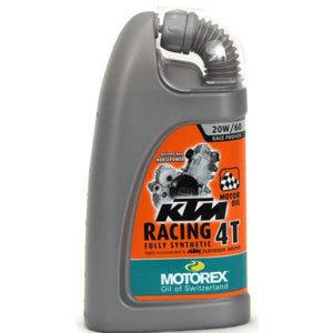 OLIO MOTOREX KTM RACING 4T 20W60