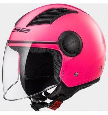 CASCO LS2 JET OF562 AIRFLOW SOLID matt pink