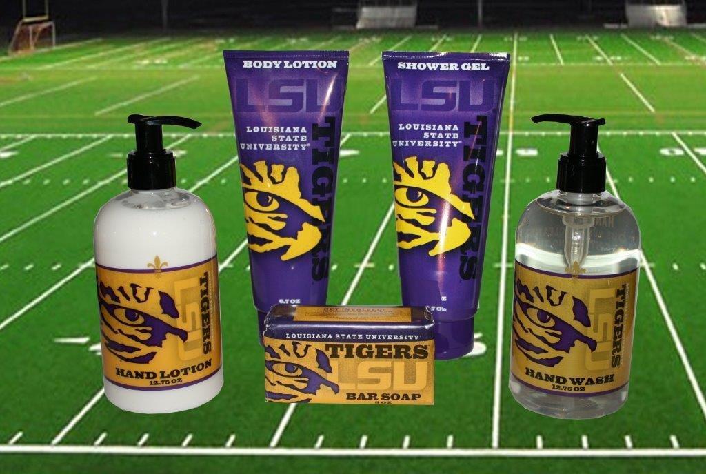 LSU Bath & Shower Gift Set 00005