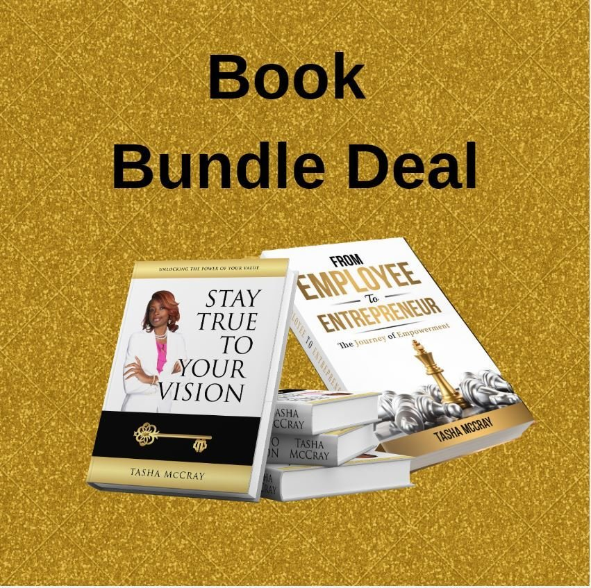 Unlocking The Power Of Your Value & From Employee To Entrepreneur Book Bundle 0005