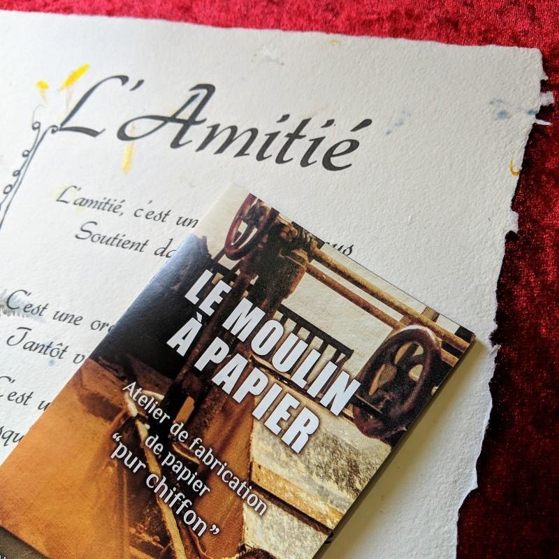 L'Amitié - Moulin à Papier de Sainte-Suzanne