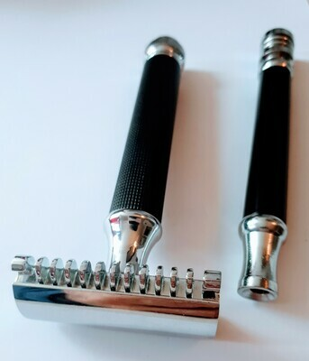 GEMINI is the first really great razor made for head shavers! Two handles. A dual comb head. Just perfect. Introductory price.