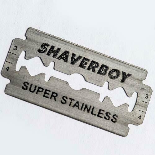 AMAZING SHAVERBOY BLADES!!! 100 BLADES.