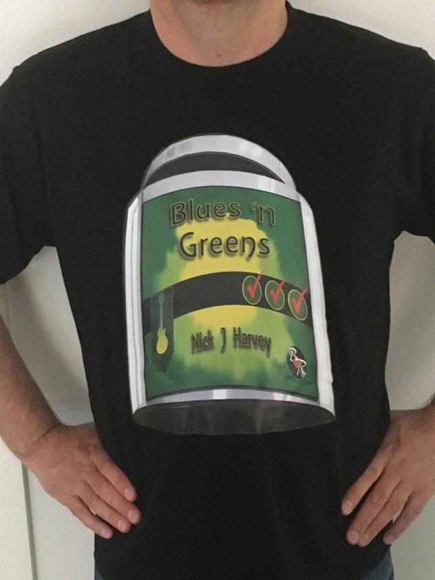 Blues 'n Greens Tee