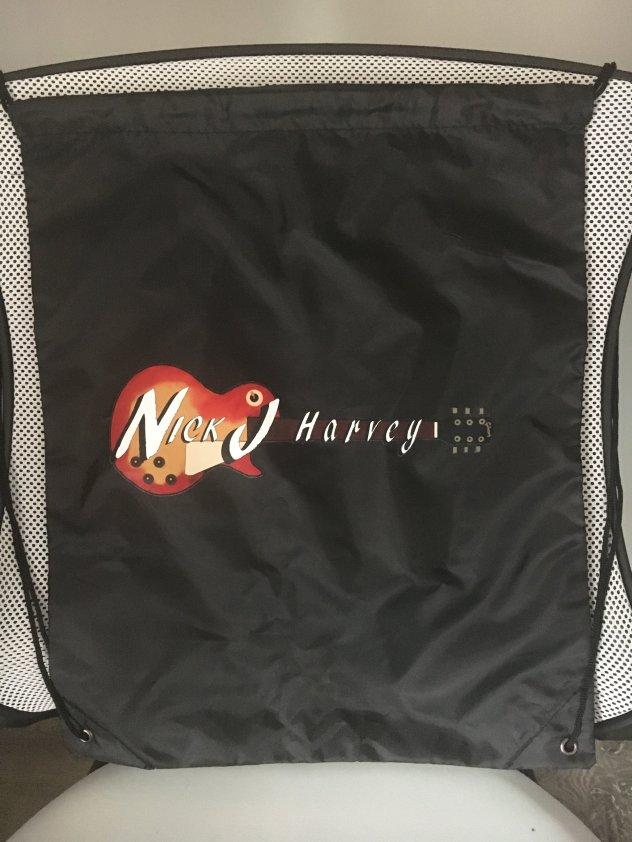 Logo Drawstring Tote Bag 00001