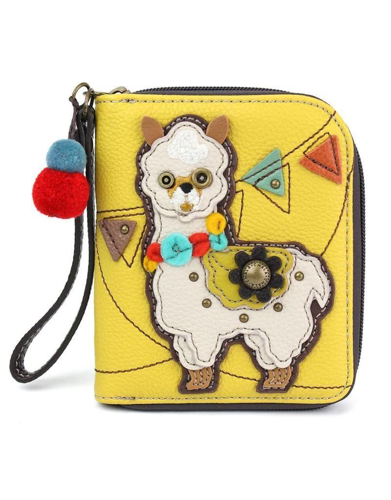 Zip Around Wallet Llama