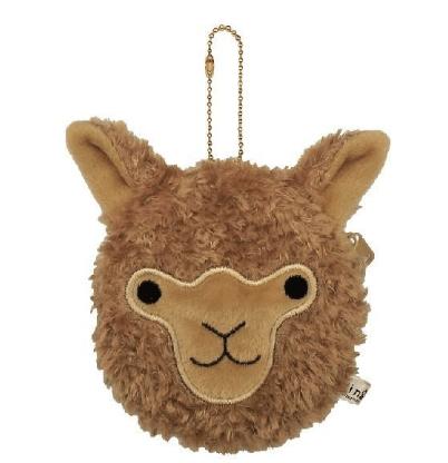 Alpaca Face Coin Purse