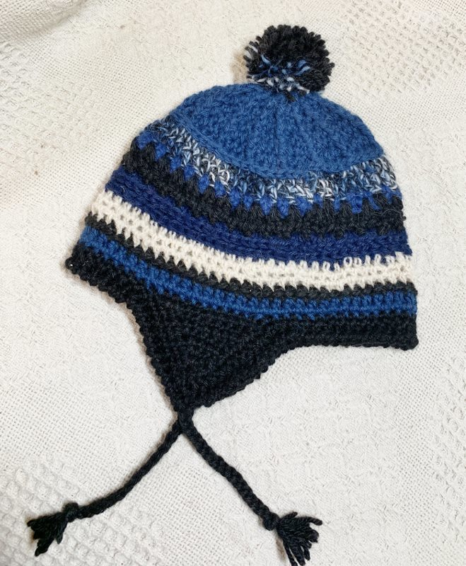 Toddler Alpaca Hat with Ear Flaps - 1-3 Years 18351